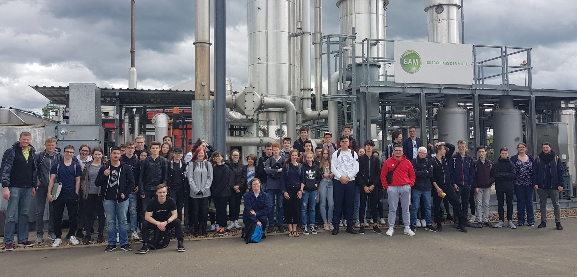 Biogasanlage statt Klassenzimmer